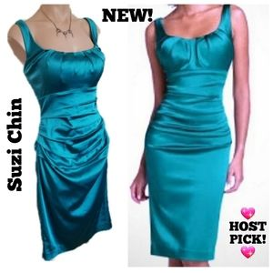 Suzi Chin for Maggy Boutique Dress NEW